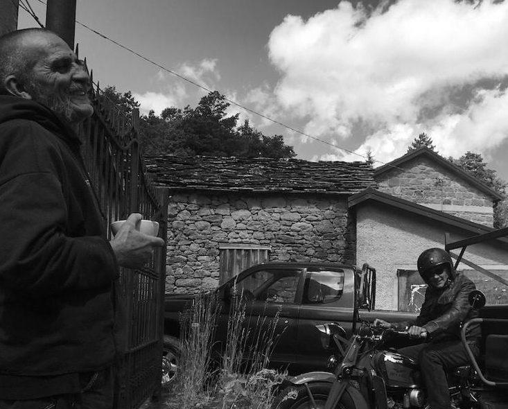 Giovanni Lindo Ferretti a Cerreto Alpi (c) Foto Ums