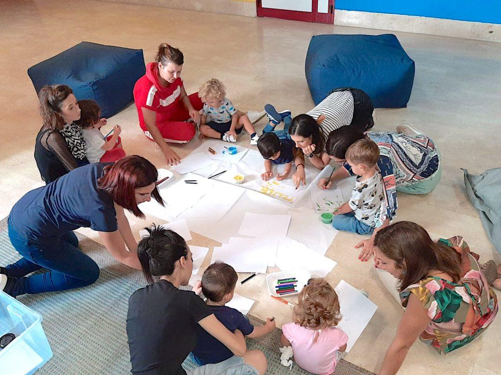 Genitori e bambini insieme con Face a Palermo